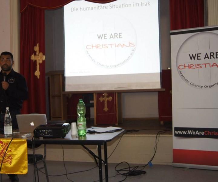 Josef Gabriel, Vorsitzender We Are Christians - Aramaic Charity Organizaion e.V.
