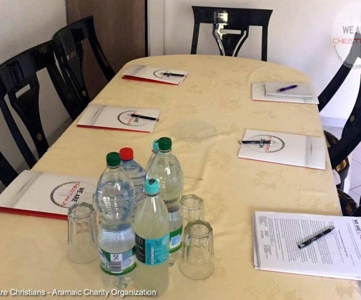 Sitzung bezüglich Waisenhaus-Projekt – Göppingen, den 23. April 2017